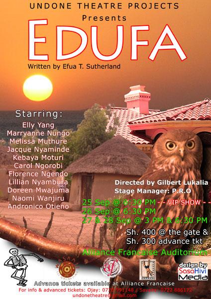 """Theatre """"Edufa"""" - Poster"""